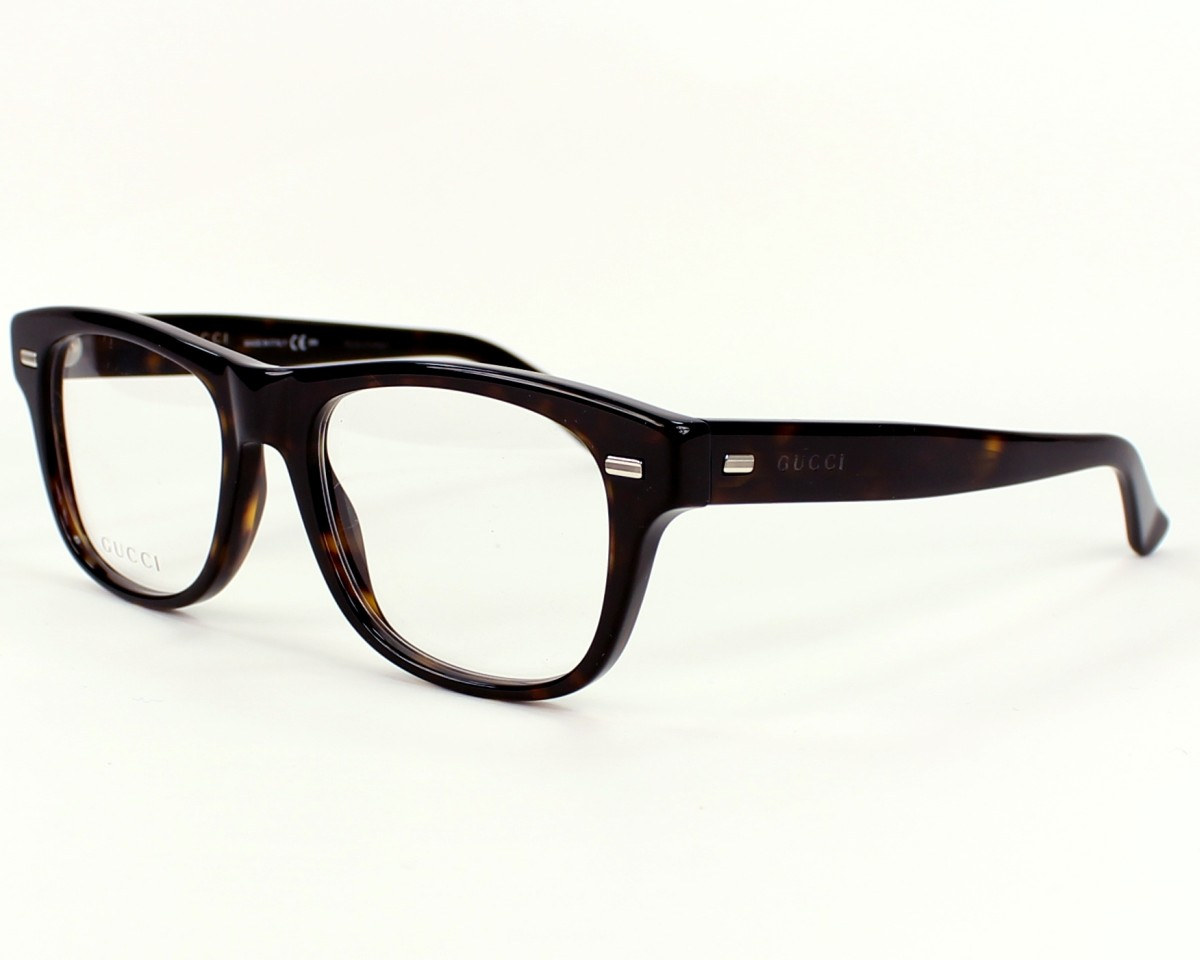 gucci eyewear square shaped glasses 6ex blue