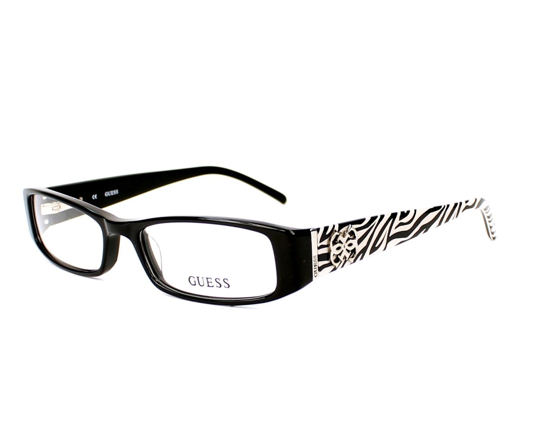 Guess Eyeglasses GU-2219 BLK Black | visio-net.co.uk