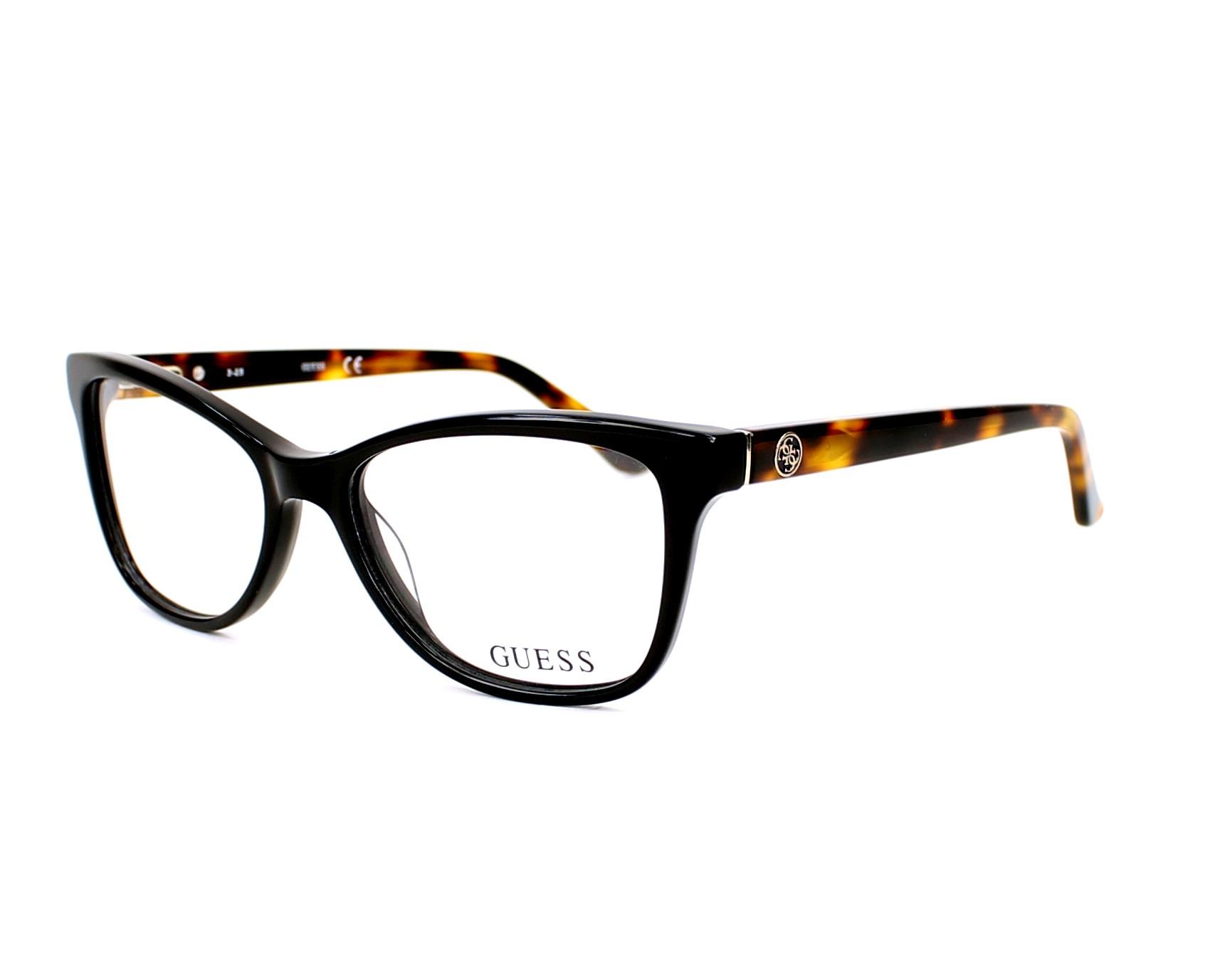 Guess Eyeglasses GU-2536 001 Black | visio-net.co.uk