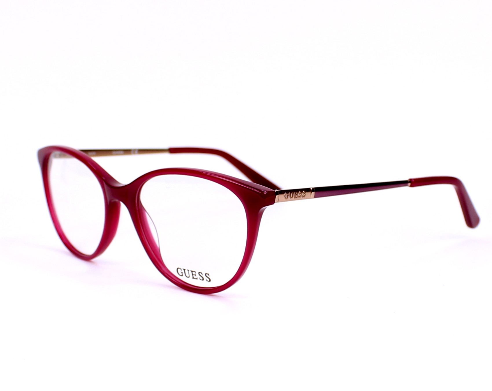 Guess Eyeglasses GU-2565 075 Fuchsia - Visionet UK