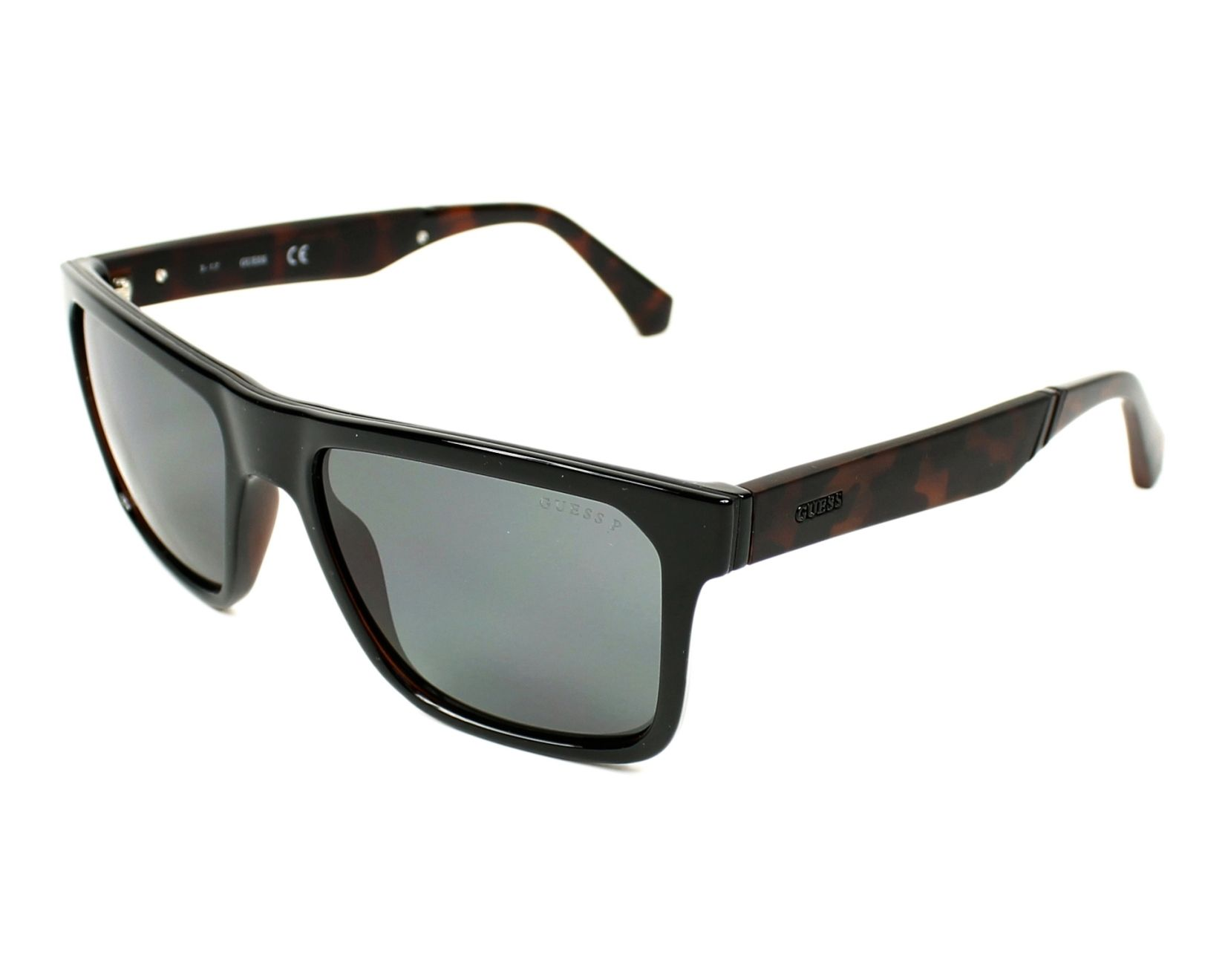 Guess Sunglasses Gu 6906 01d Black With Grey