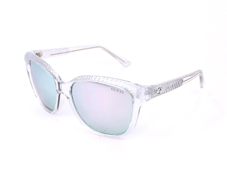 a60a3eb1fc4 Sunglasses Guess GU-7401 26C - White profile view