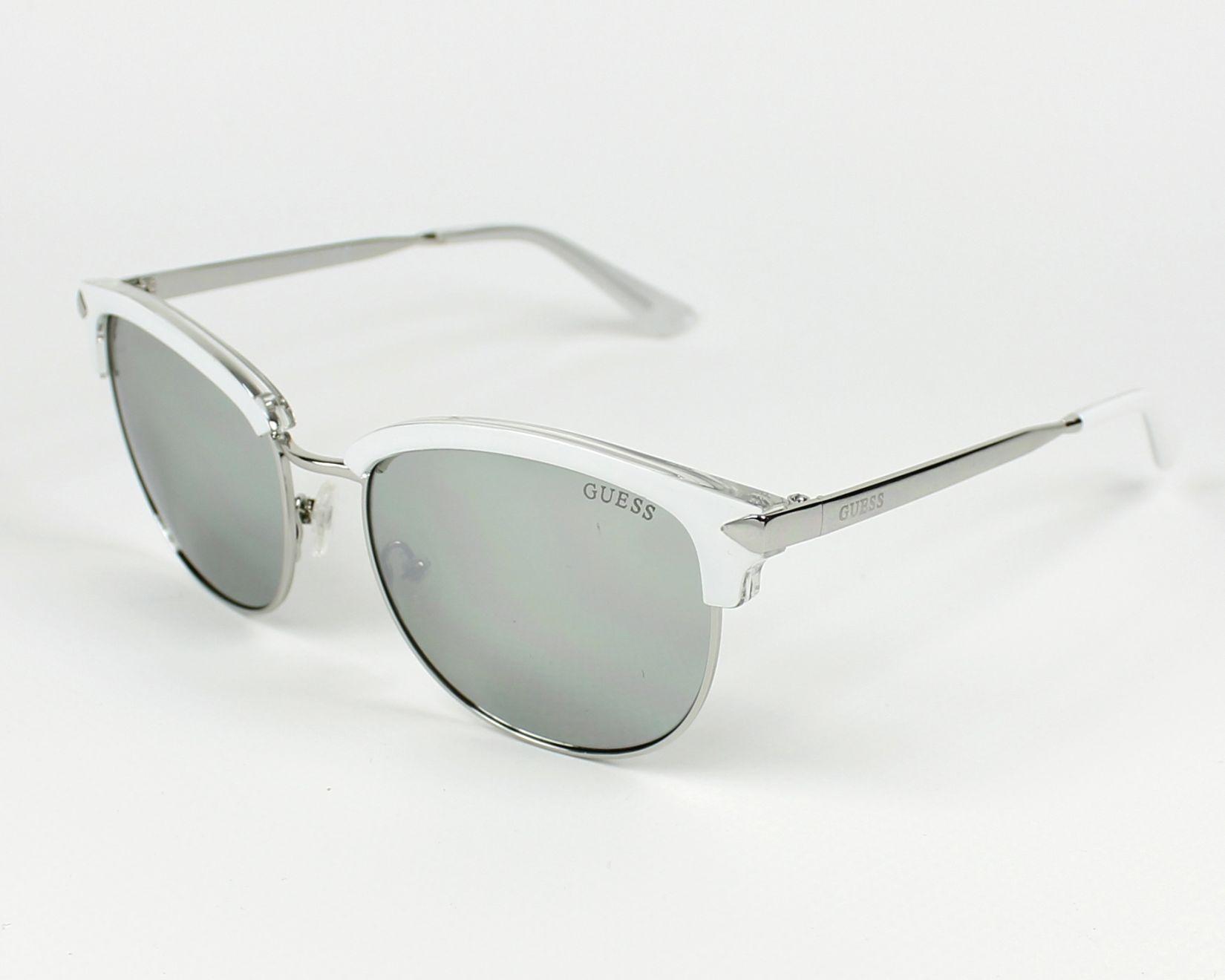 e4980979c94 Sunglasses Guess GU-7482-S 21C - White Silver profile view