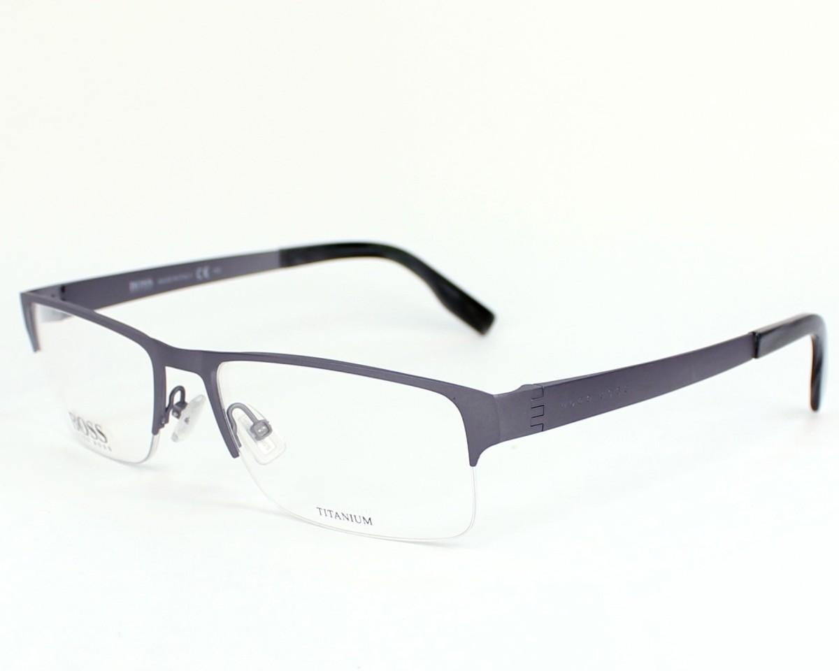 e2a274abe92d9 thumbnail eyeglasses Hugo Boss BOSS-0515 R80 - Grey profile view