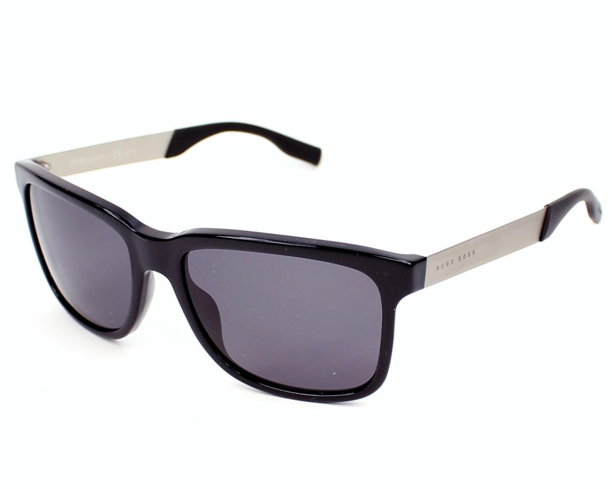 f444063d0b Sunglasses Hugo Boss BOSS-0553-S FB8/3H - Black Palladium profile view