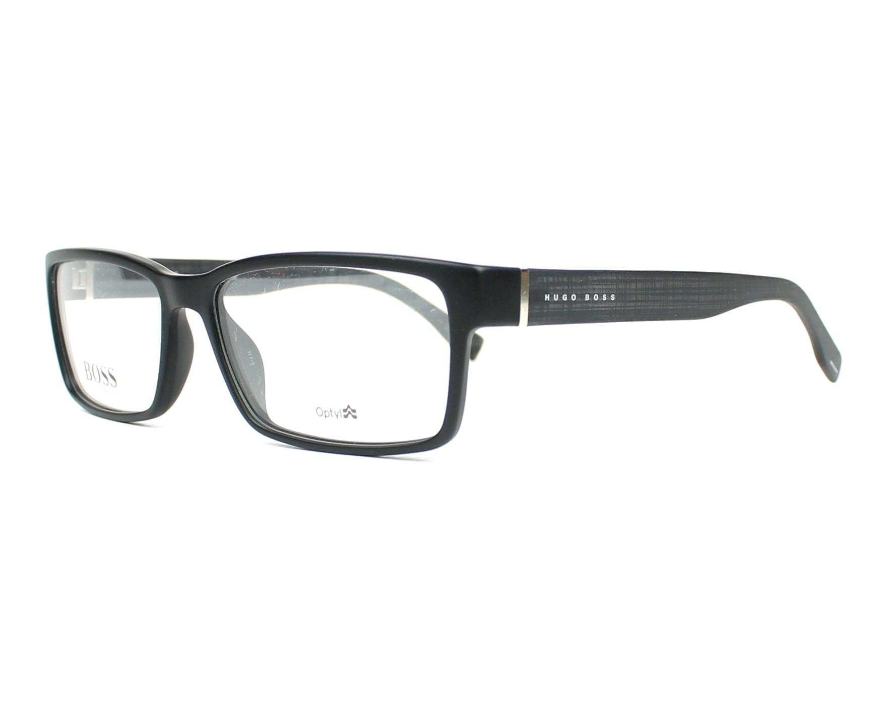 44f97817d43 eyeglasses Hugo Boss BOSS-0797 003 - Black Black profile view