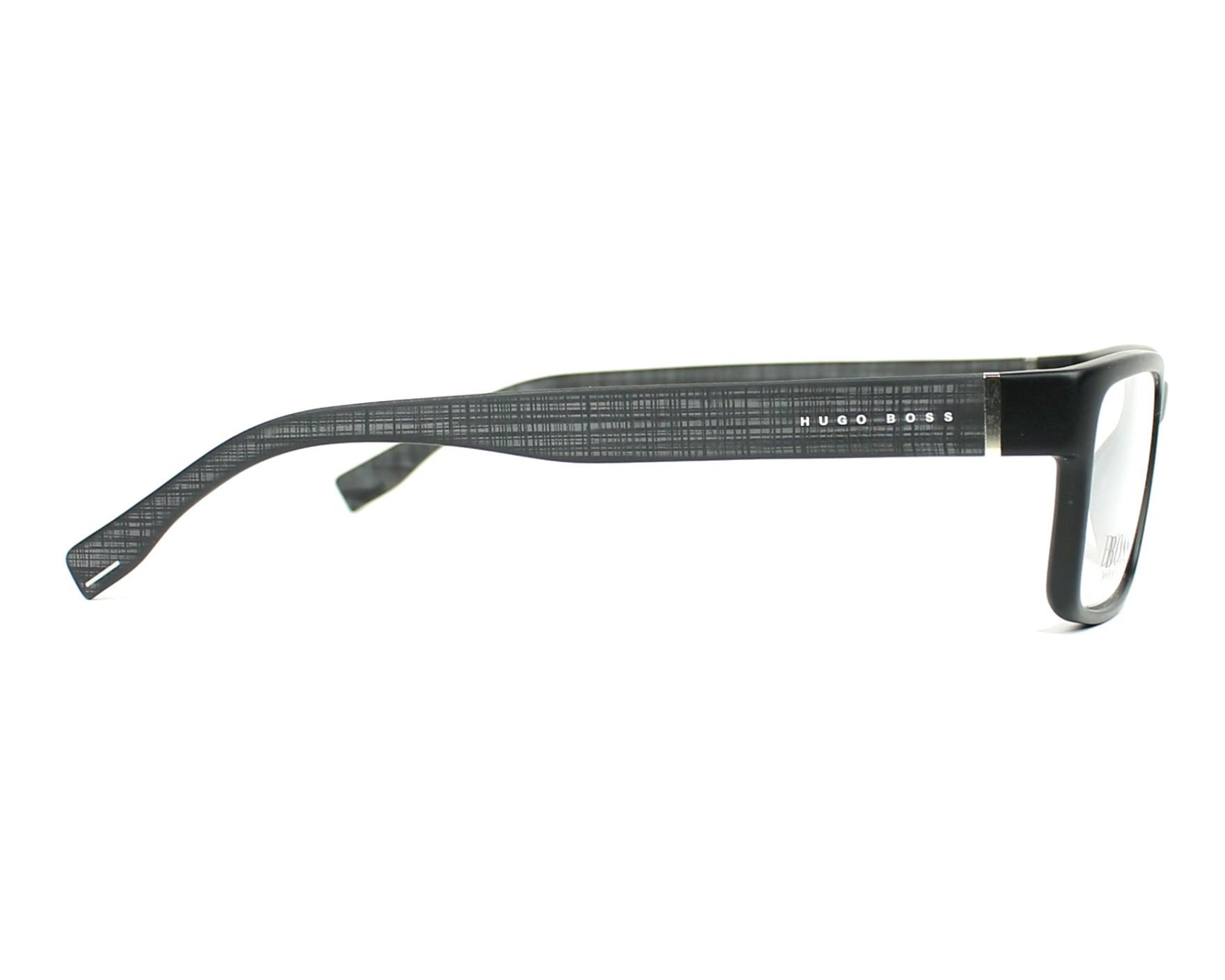 d4a7756066e eyeglasses Hugo Boss BOSS-0797 003 - Black Black side view
