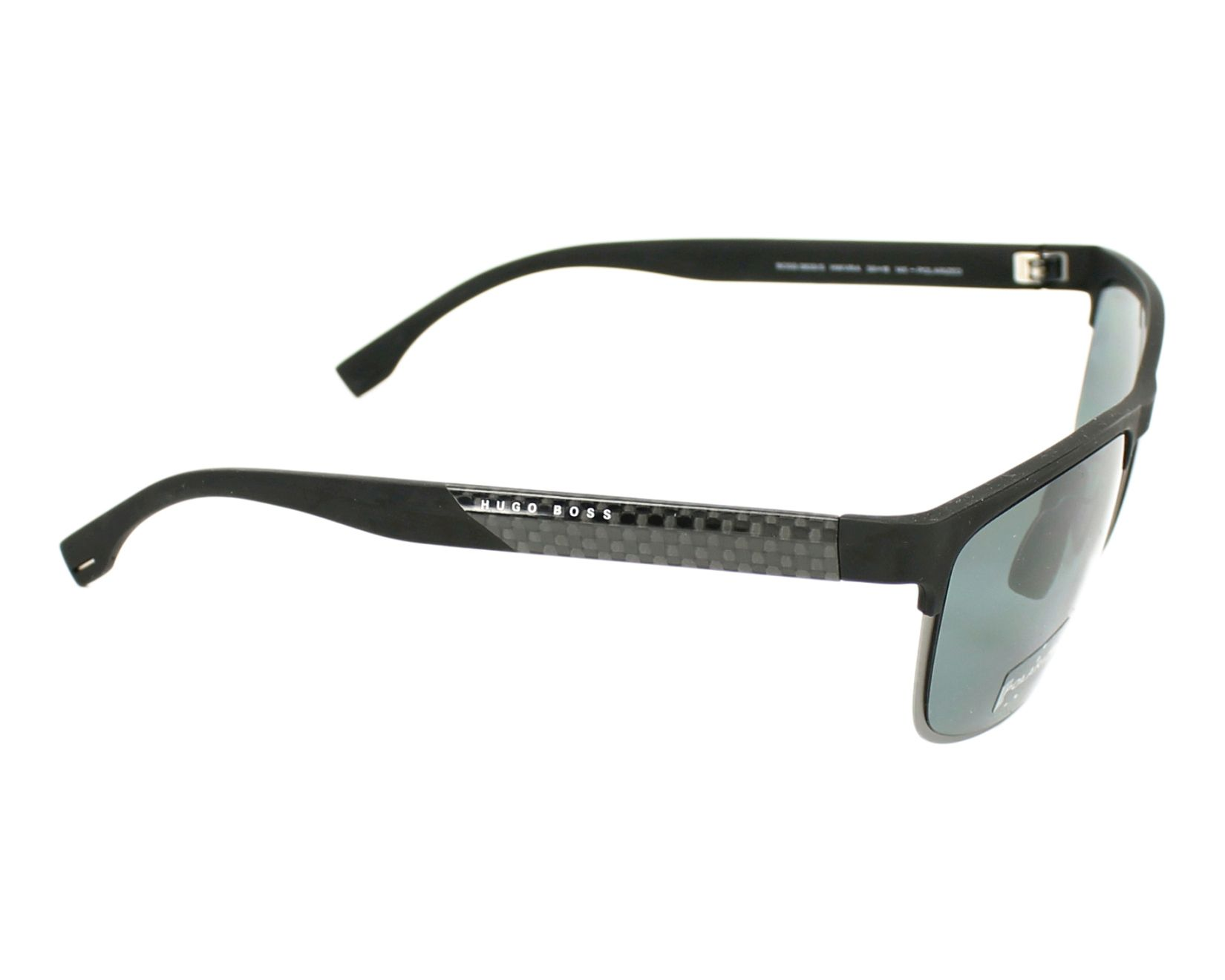 be5a25cd16 Sunglasses Hugo Boss BOSS-0835-S HWV RA - Gun Black side view