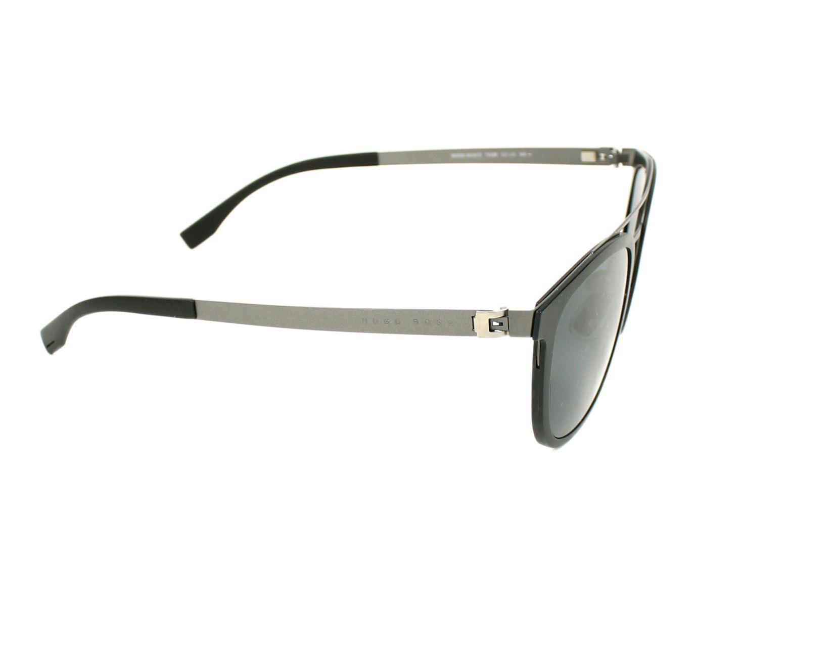 dd07c7f7b62bf Sunglasses Hugo Boss BOSS-0838-S 793 IR 52-21 Black Gun