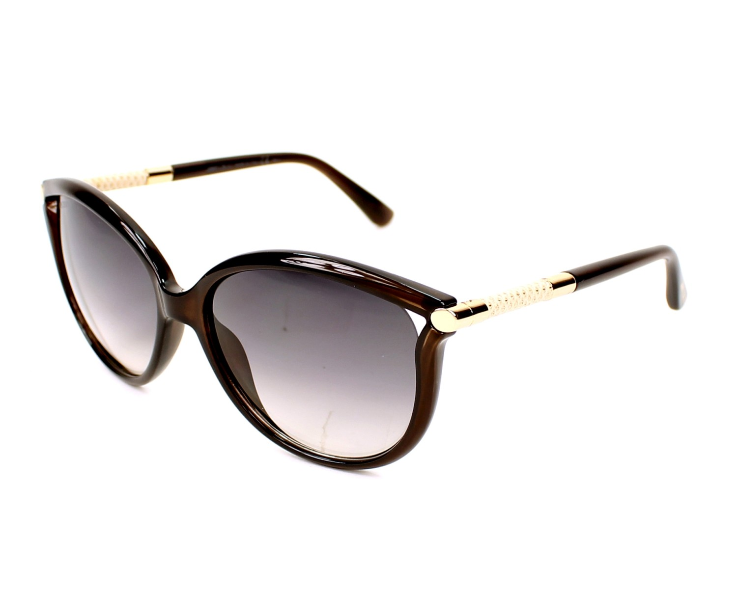 Jimmy Choo Sunglasses Giorgy S Qd3 9c Brown With Black