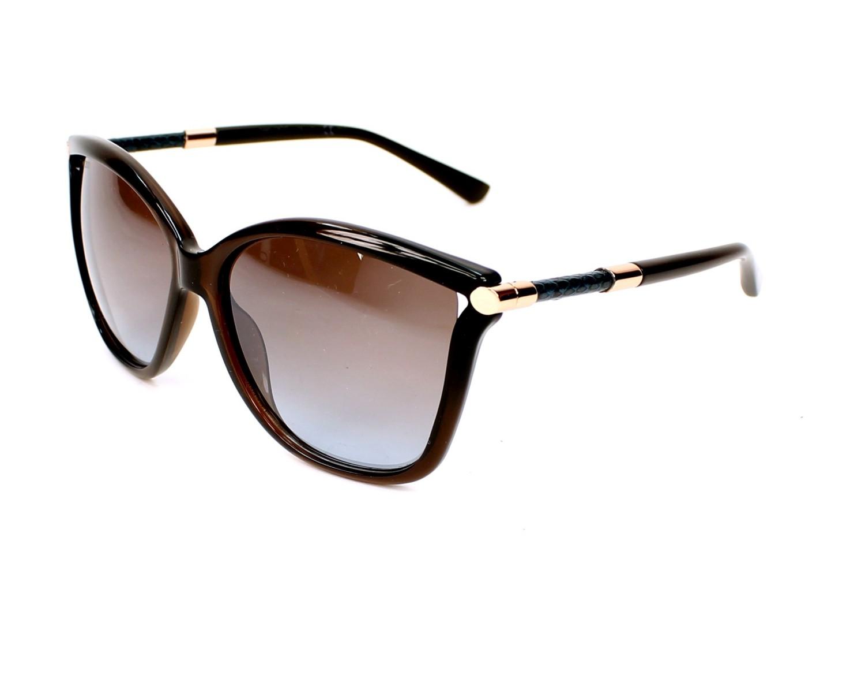 ce7821a5da6e Sunglasses Jimmy Choo TATTI-S 8J9 TF 58-15 Brown Bronze profile view