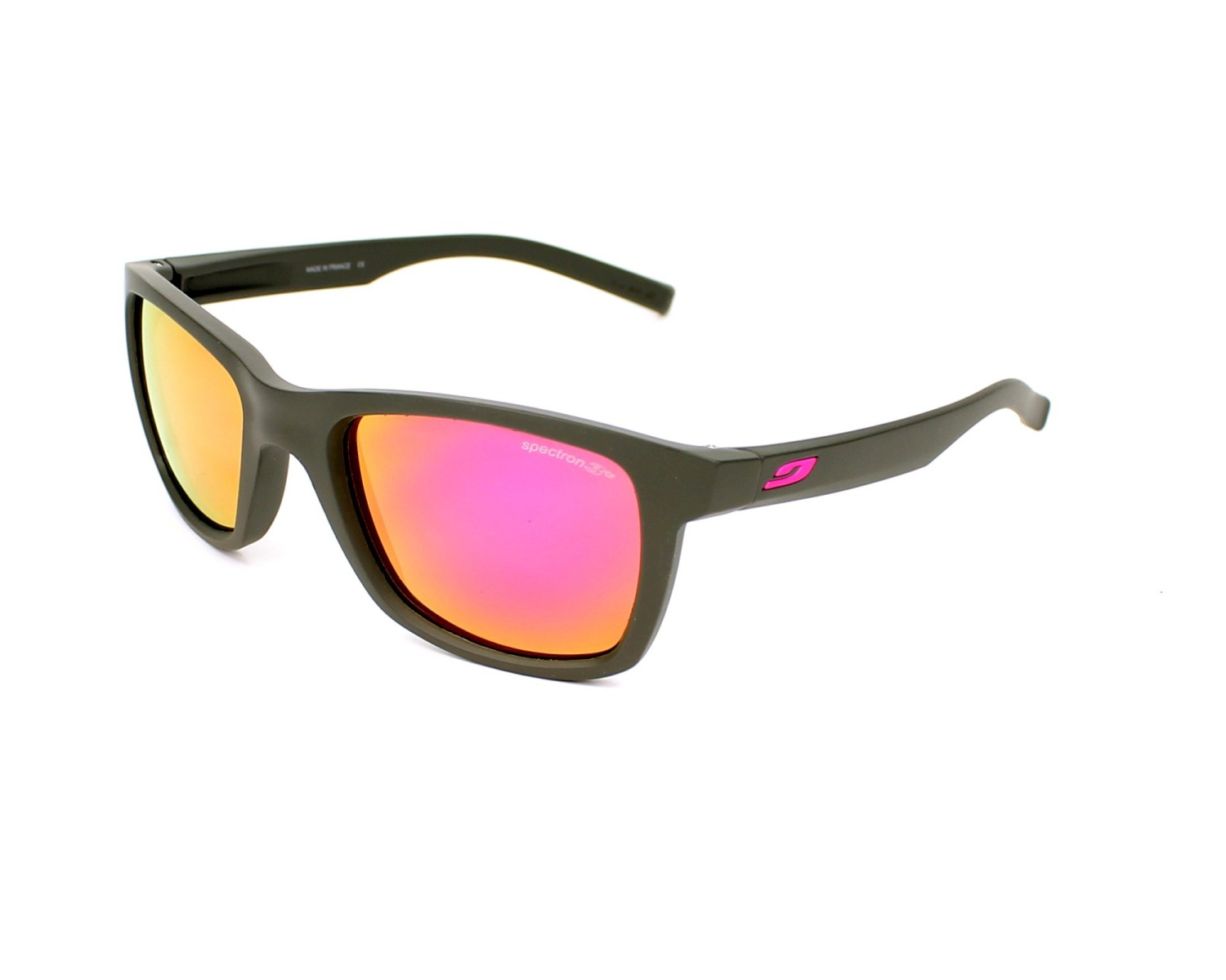 1927eed2ac5f3 Sunglasses Julbo J477 1154 50-19 Grey Pink profile view