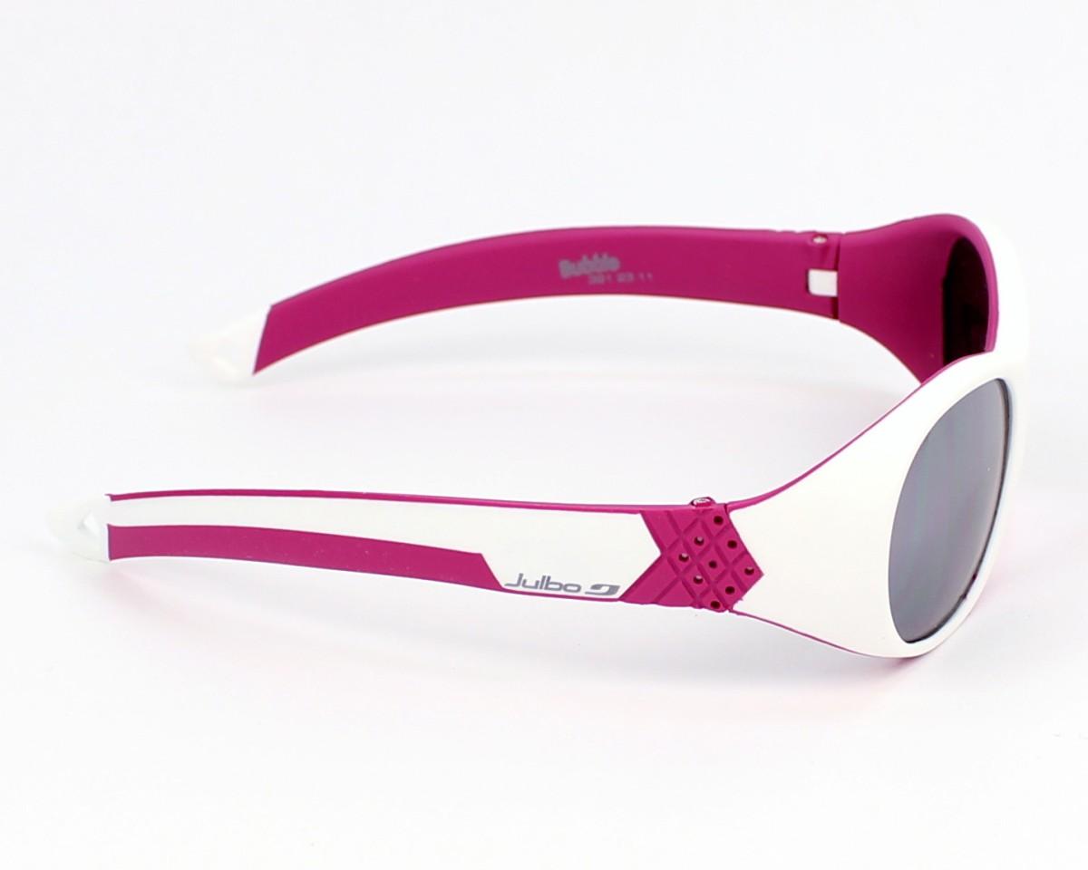 Sunglasses Julbo J391 2311 42-13 White Pink side view 91f2a25cc11a