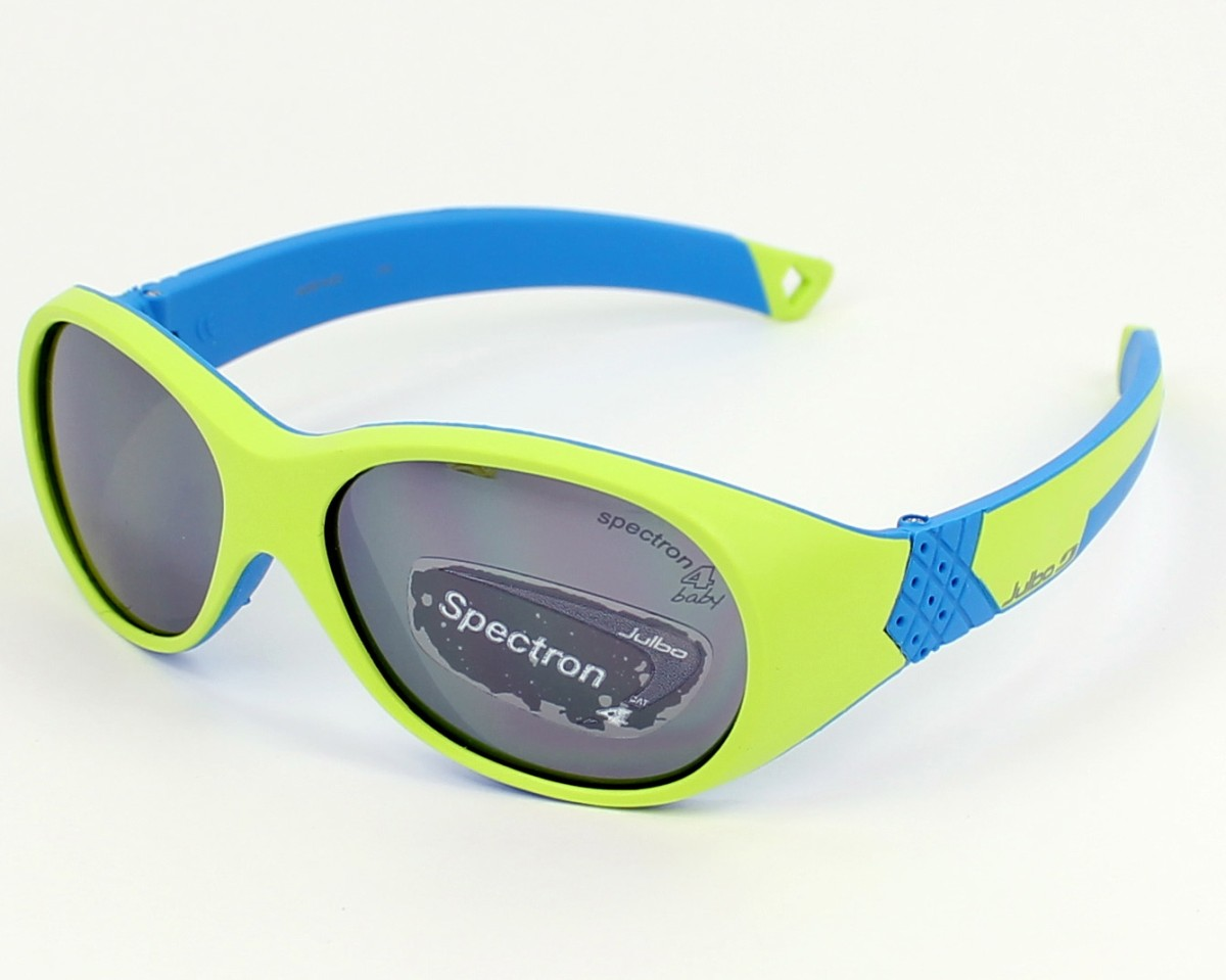 Sunglasses Julbo J391 2316 42-13 Green Blue profile view a3bb7b63a548