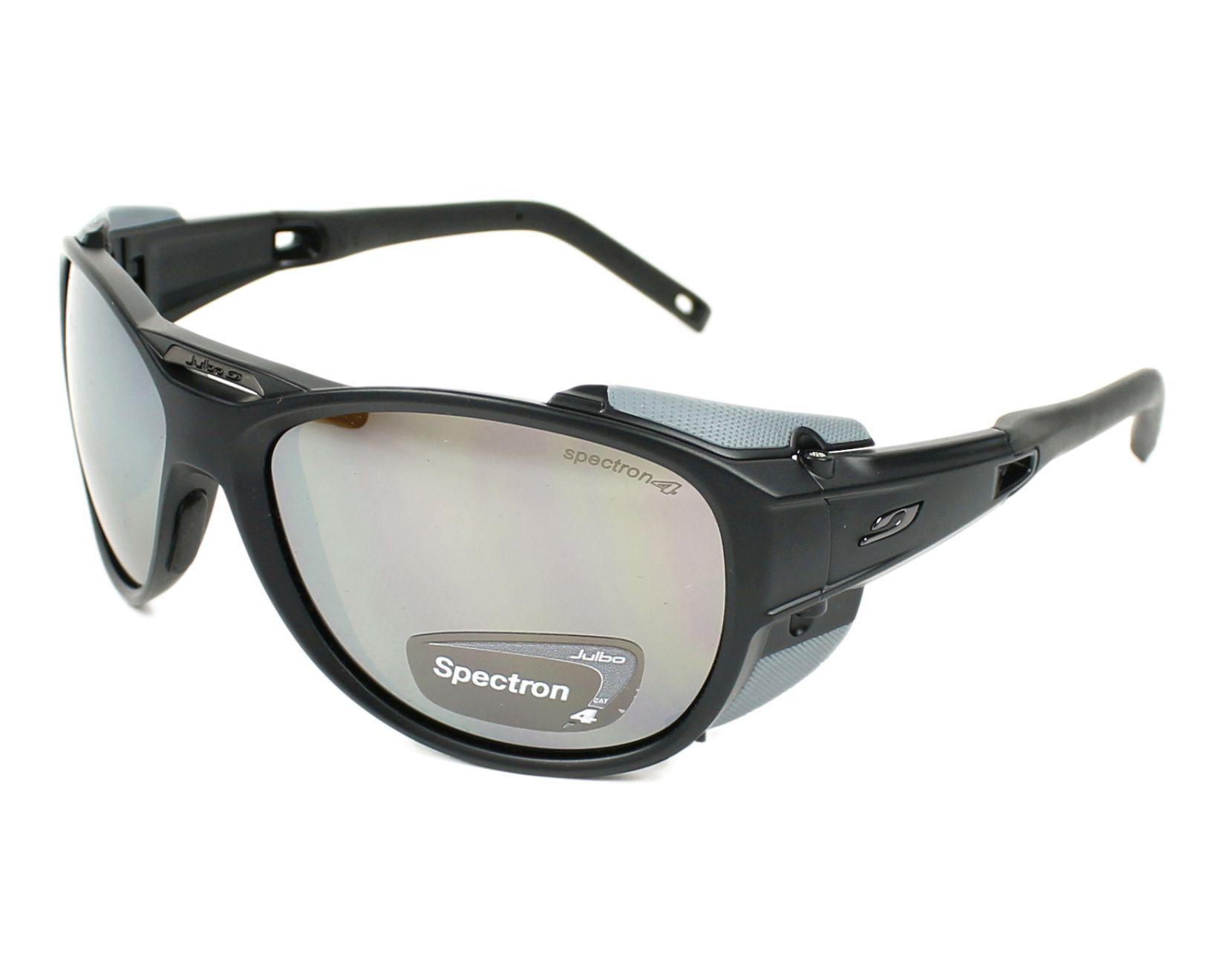 d90ca50465e8 Sunglasses Julbo J497 1214 61-11 Black Grey profile view