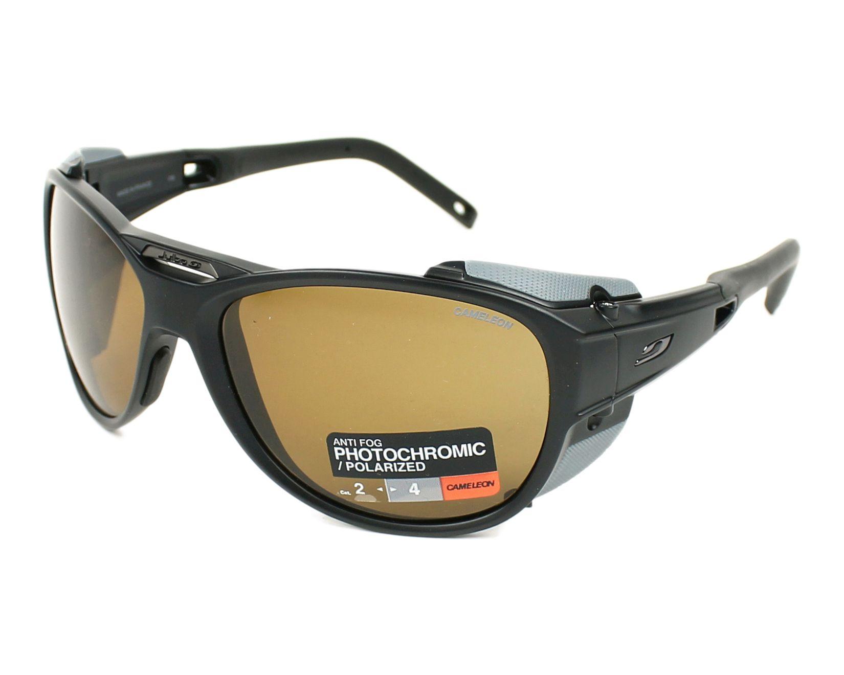 e9f17dd74cde Sunglasses Julbo J497 5014 61-11 Black Grey profile view
