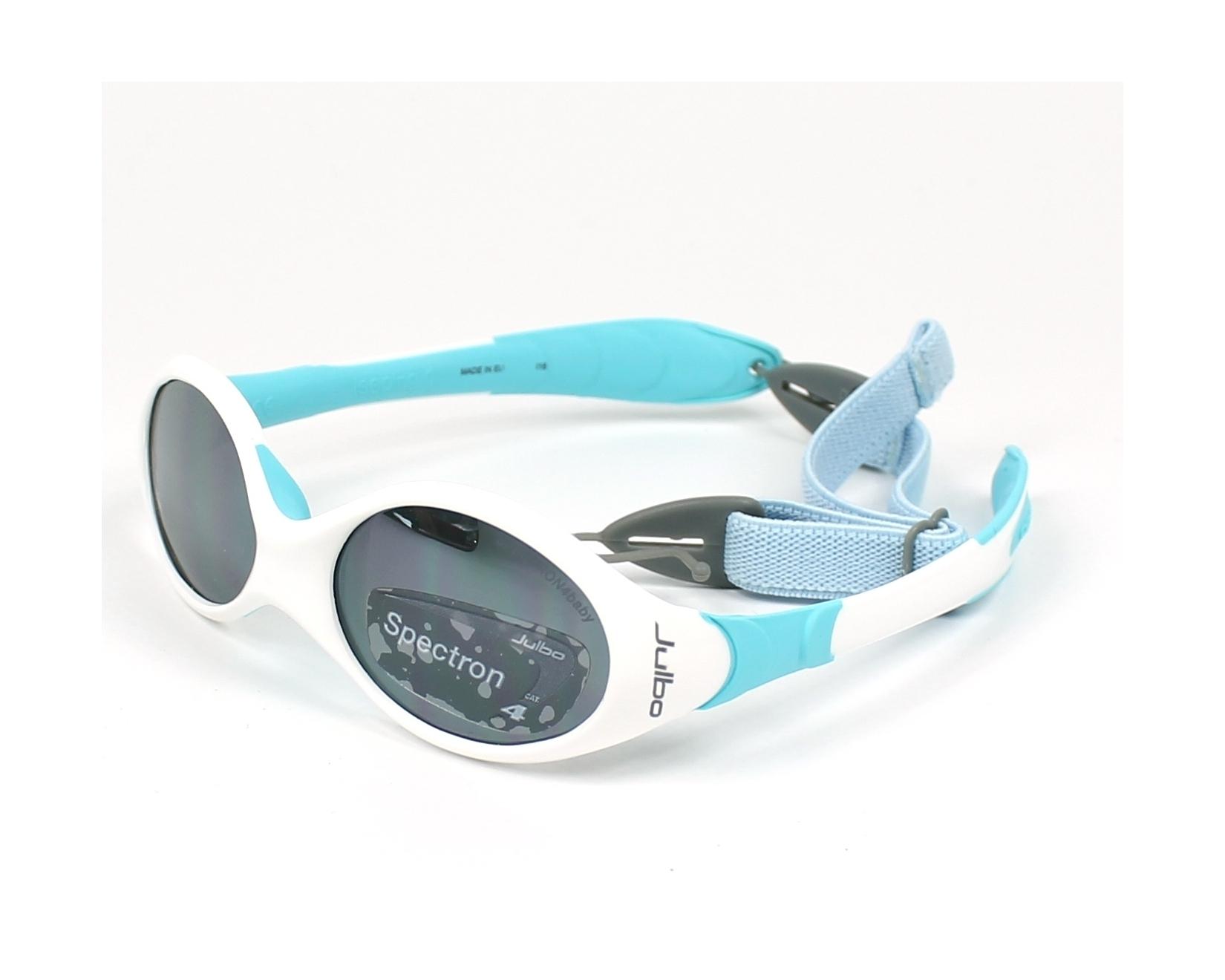 41014b71b60de Sunglasses Julbo J189 2311 39-13 White Blue profile view