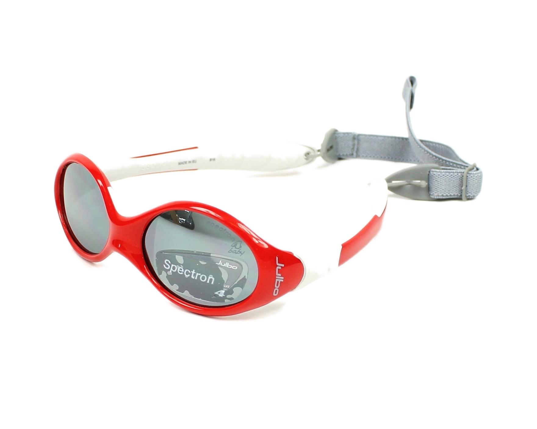 174156eaa4b9b Sunglasses Julbo J189 2313C 39-13 Red Grey profile view