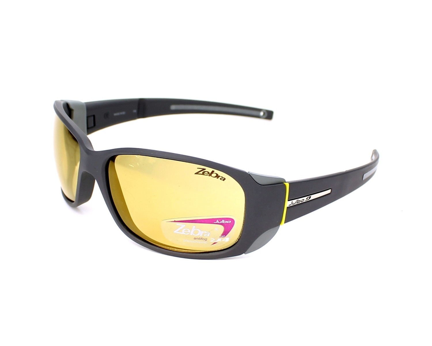 cdaba9de64cb Sunglasses Julbo J415 3121 - Grey Yellow profile view