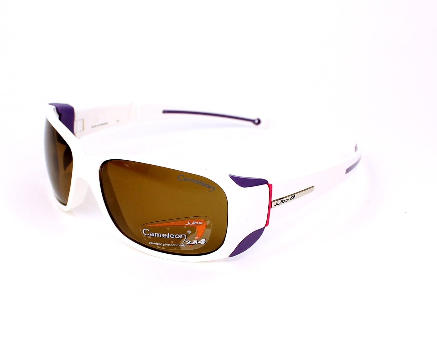 df925a88f3763e Sunglasses Julbo J401 5011 58-15 White Purple profile view