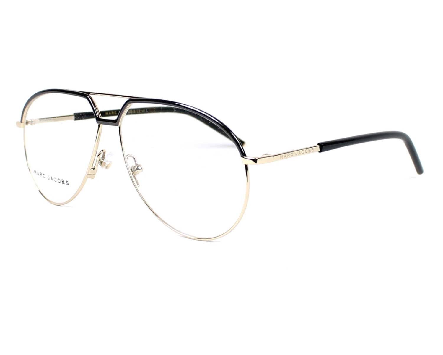 eb504d828c9 eyeglasses Marc Jacobs MARC-14 TZV - Black Gold profile view