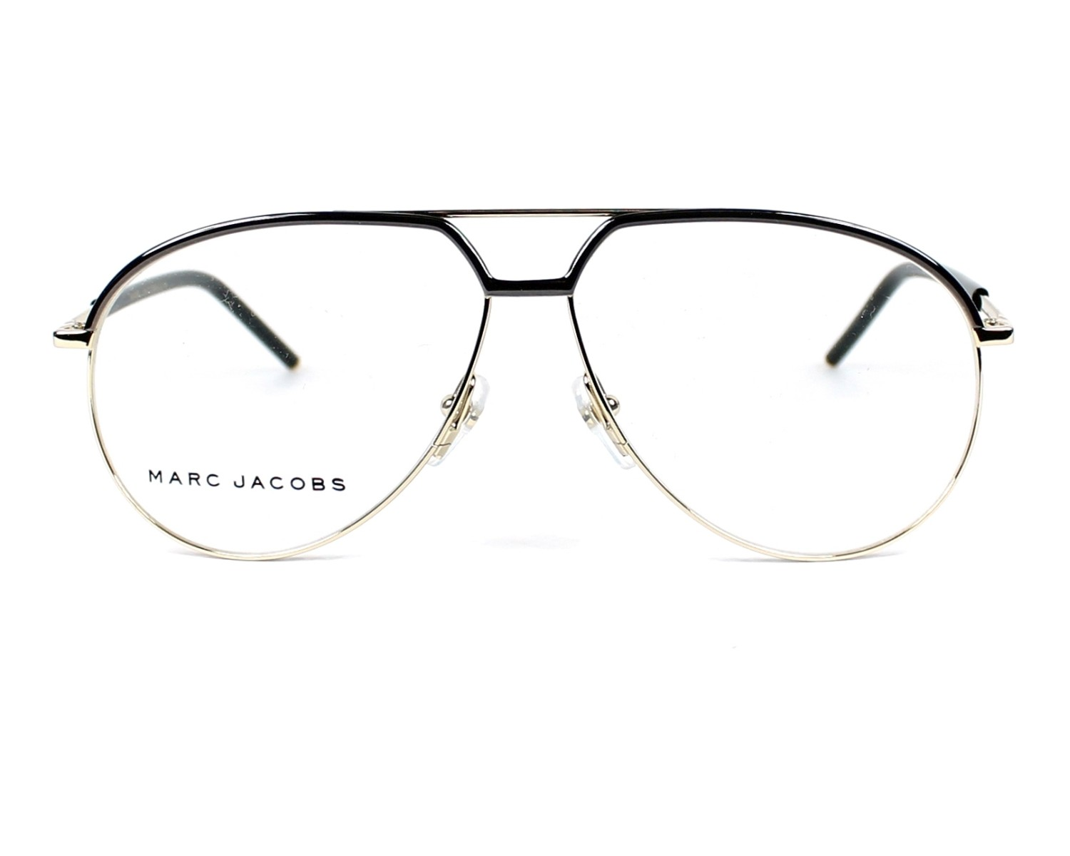 c270e4230d0 eyeglasses Marc Jacobs MARC-14 TZV - Black Gold front view