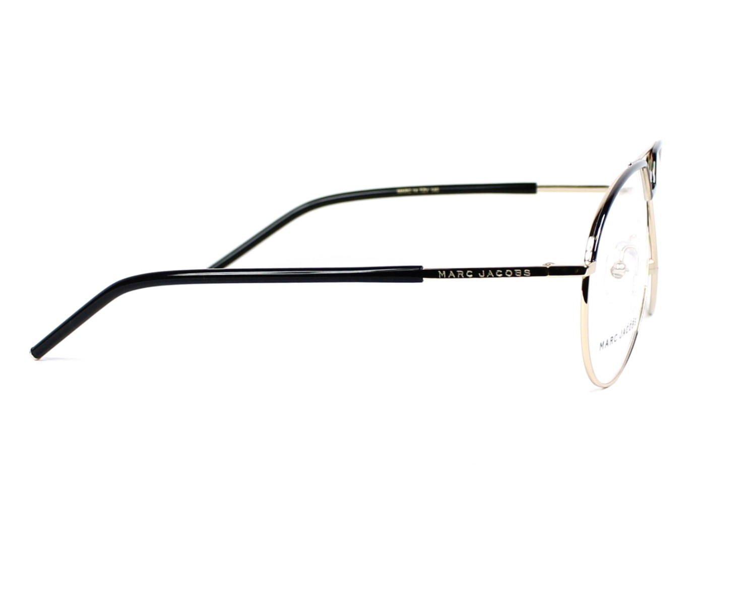 0d0370e9c7f eyeglasses Marc Jacobs MARC-14 TZV - Black Gold side view