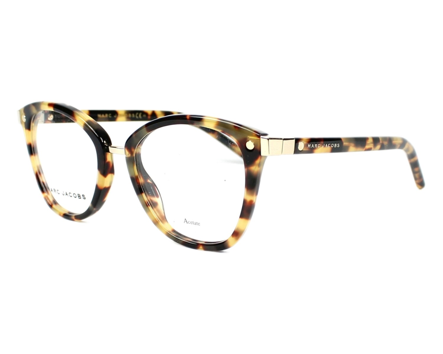 Marc Jacobs Eyeglasses Marc 24 00f Havana Visionet Uk