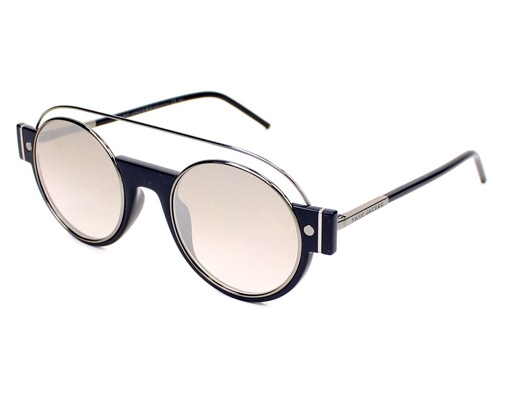 Sunglasses Marc Jacobs MARC-2-S U5Z NQ - Blue Silver profile view cf4a4b18b5a