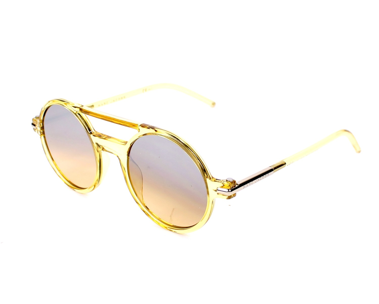 d021367f62 thumbnail Sunglasses Marc Jacobs MARC-45-S 1UA GG - Yellow profile view