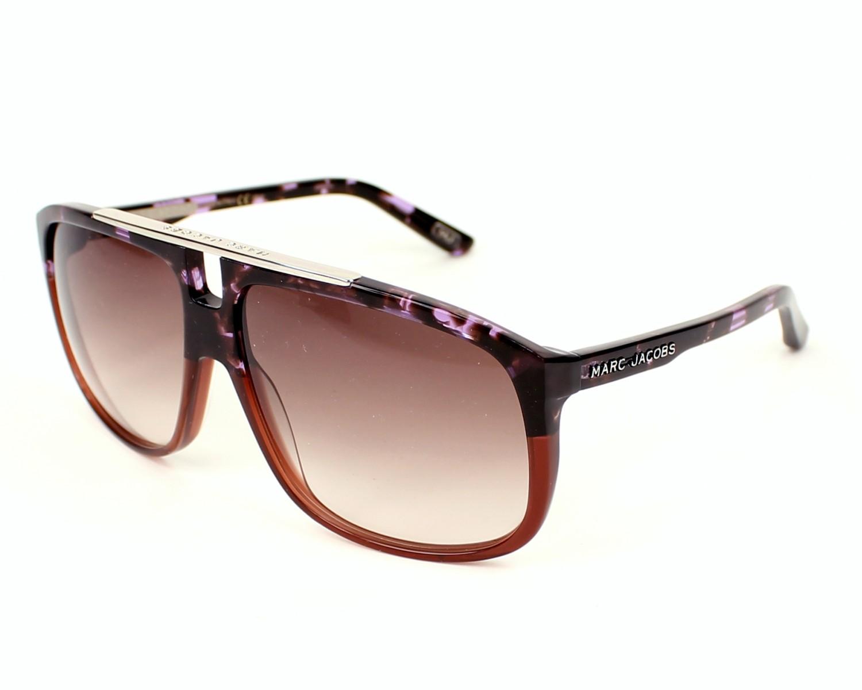 52ee6e6e0c81 thumbnail Sunglasses Marc Jacobs MJ-252-S XGZ/S2 - Purple profile view