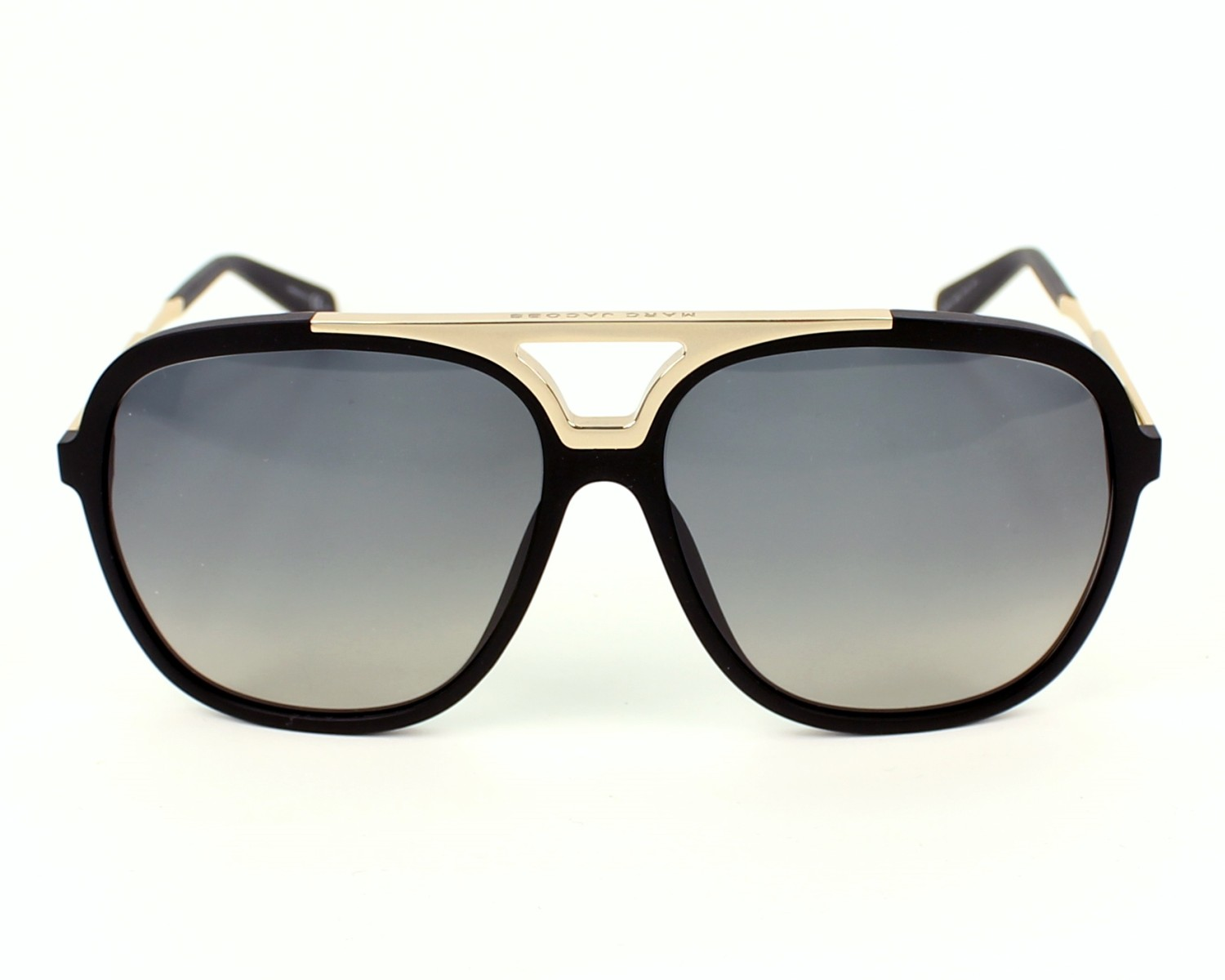 e36566a6507b Sunglasses Marc Jacobs MJ-618-S I46 DX - Black Gold front view