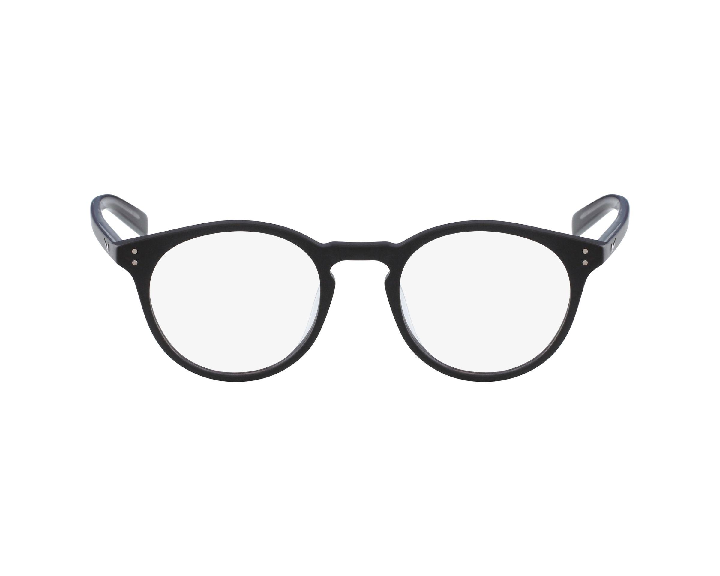 29d283aab699 eyeglasses Nike 36-KD 001 59-21 Black Crystal profile view