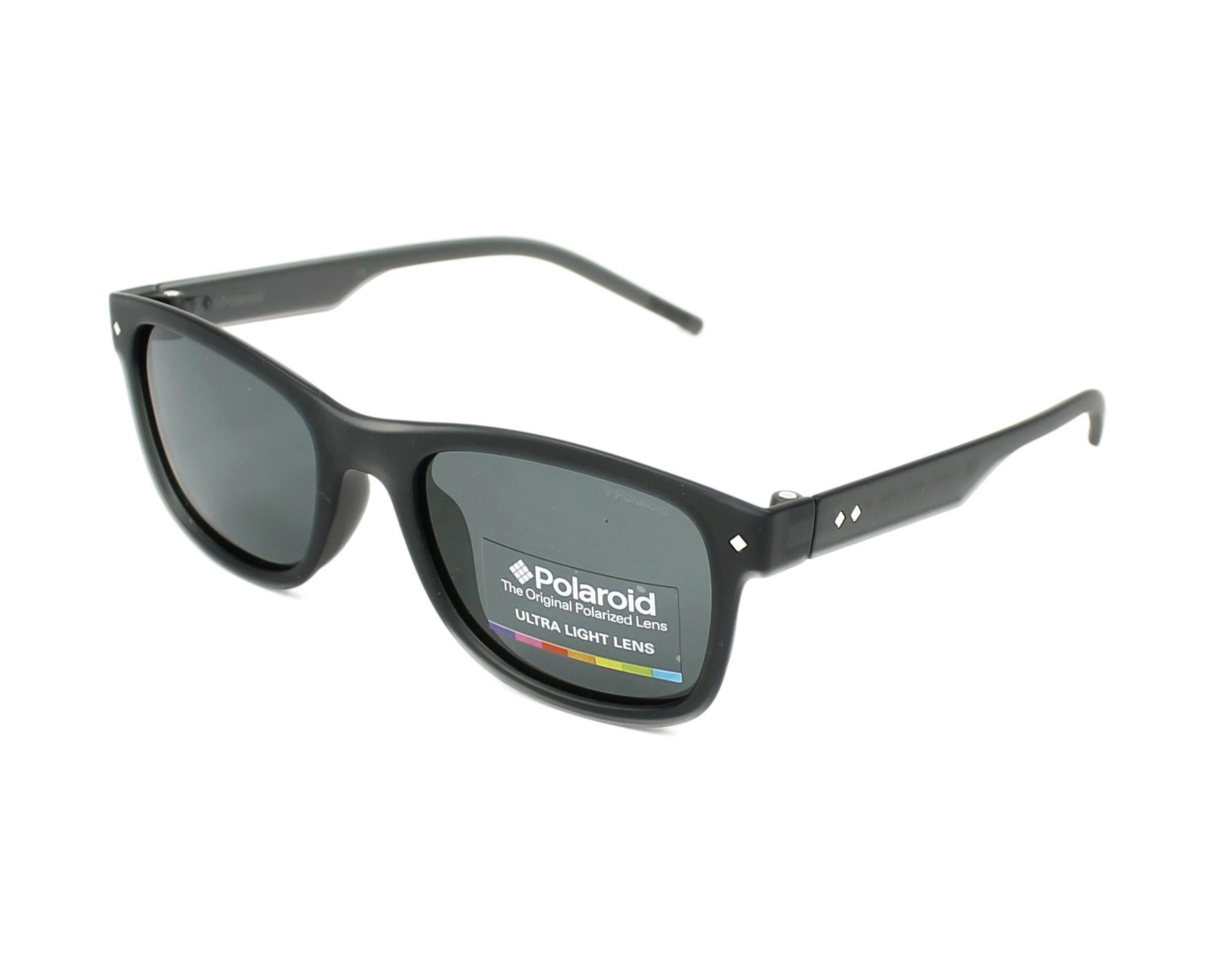 2e43022eae thumbnail Sunglasses Polaroid PLD-8021-S MNV/Y2 - Grey profile view