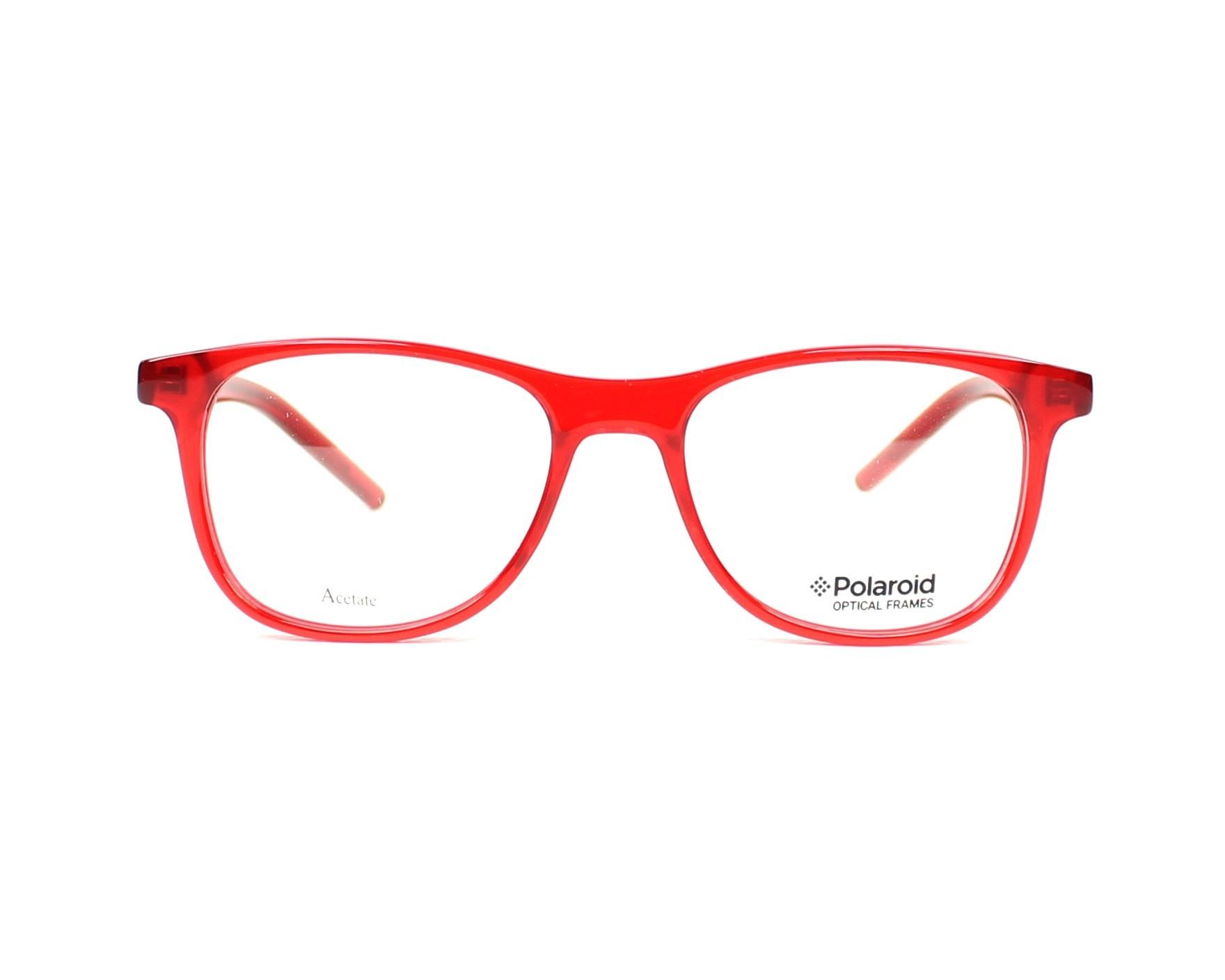 02a0f23df116 eyeglasses Polaroid PLDD-801 5NL 47-16 Red front view