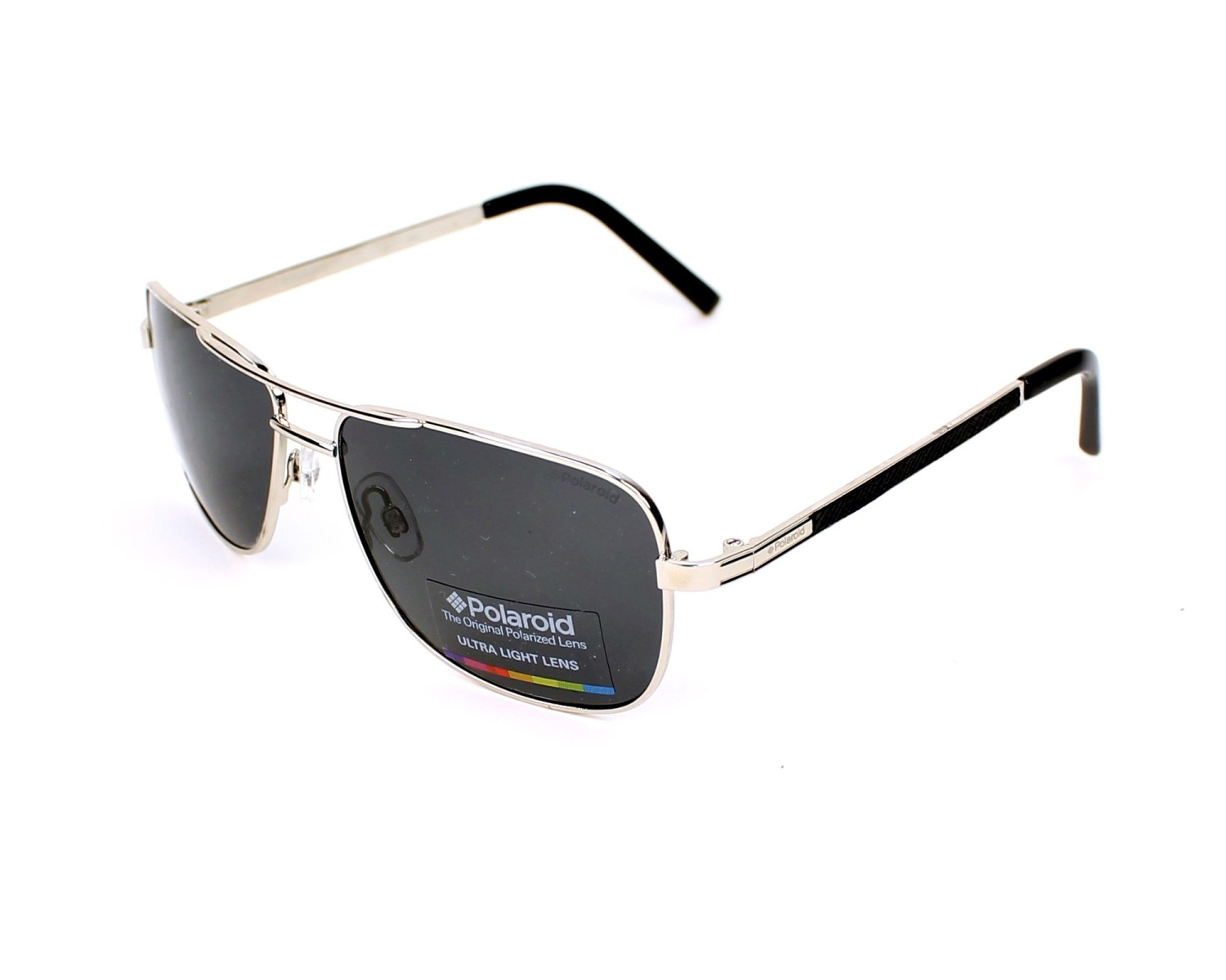 Sunglasses Polaroid PLD-2029-S 010 Y2 58-15 Silver Black profile a5cd6b7050
