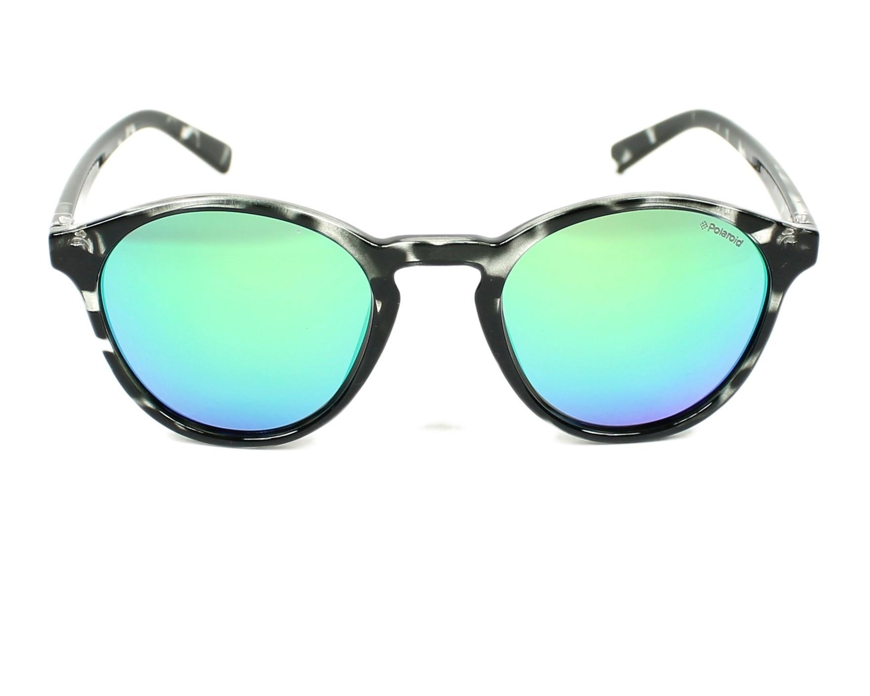 0b6f6fa72569 thumbnail Sunglasses Polaroid PLD-6013-S HJN K7 - Grey front view