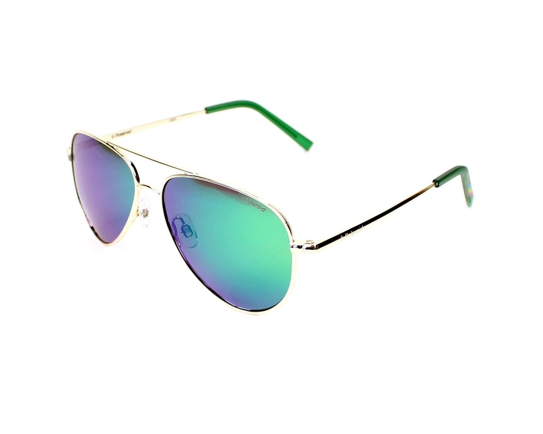 e0b7d6cbfcc thumbnail Sunglasses Polaroid PLD-8015-N J5G K7 - Gold profile view