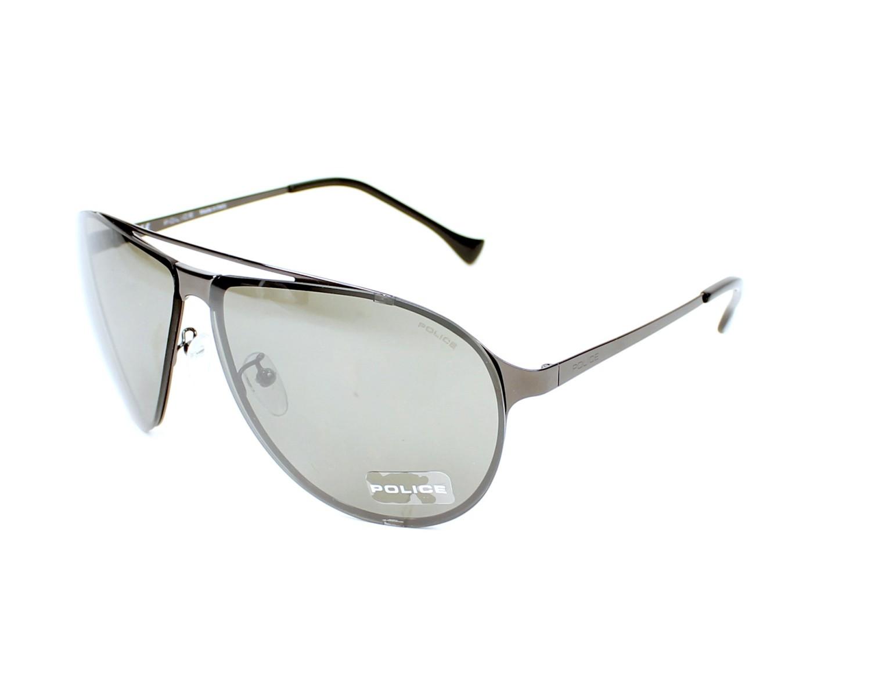 200a8b0a74 thumbnail Sunglasses Police SPL-166 568X - Gun profile view