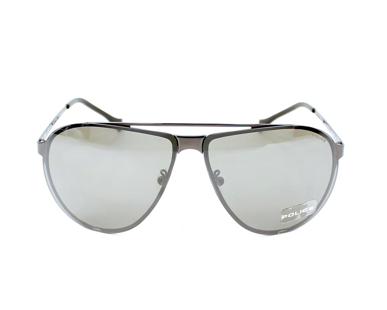 17474dff81 thumbnail Sunglasses Police SPL-166 568X - Gun front view