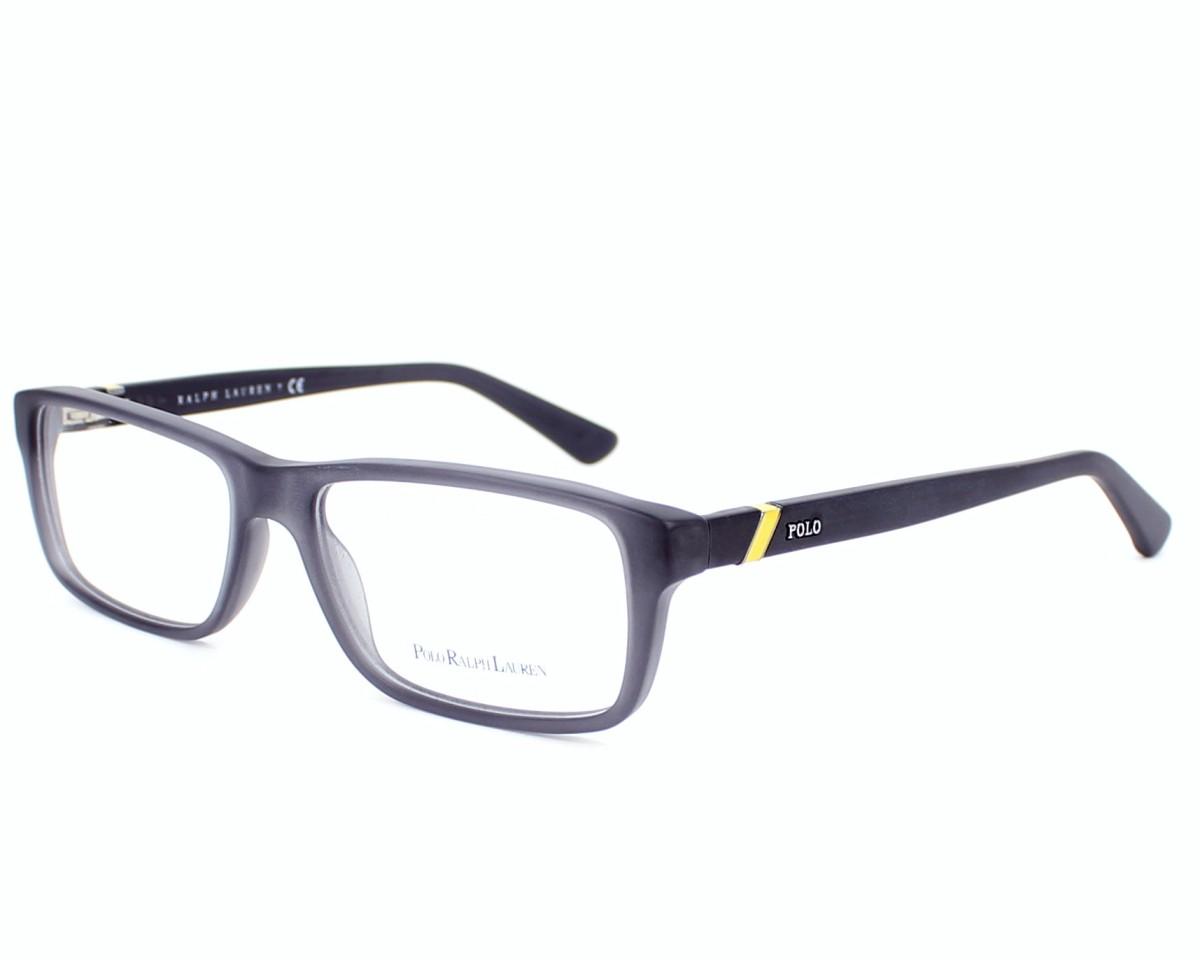 89ee446e8e7 eyeglasses Polo Ralph Lauren PH-2104 5320 54-16 Grey Black profile view