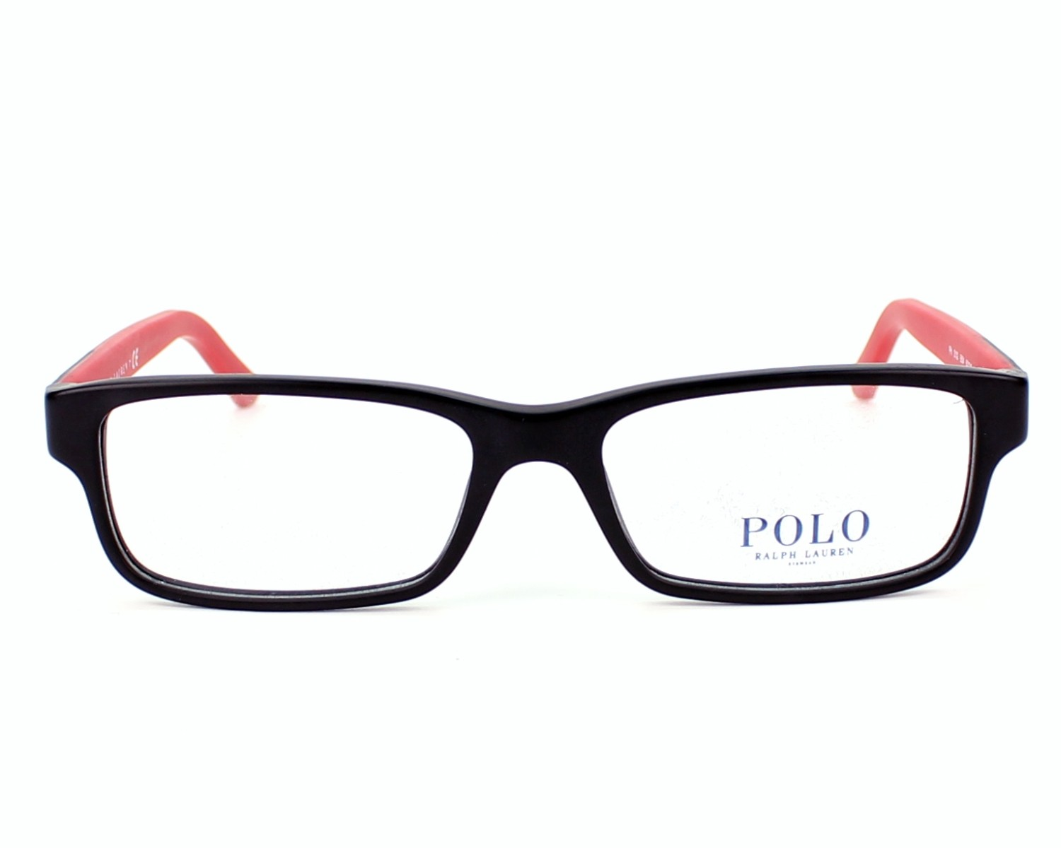 8b1a589aa58 eyeglasses Polo Ralph Lauren PH-2132 5504 - Black Red front view