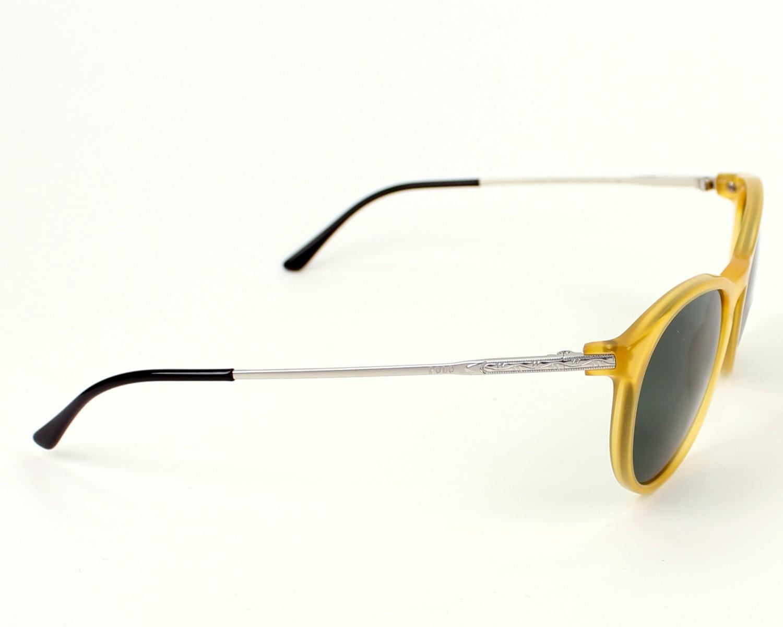 511de8d6e7 Sunglasses Polo Ralph Lauren PH-4096 5005/71 - Yellow Silver side view