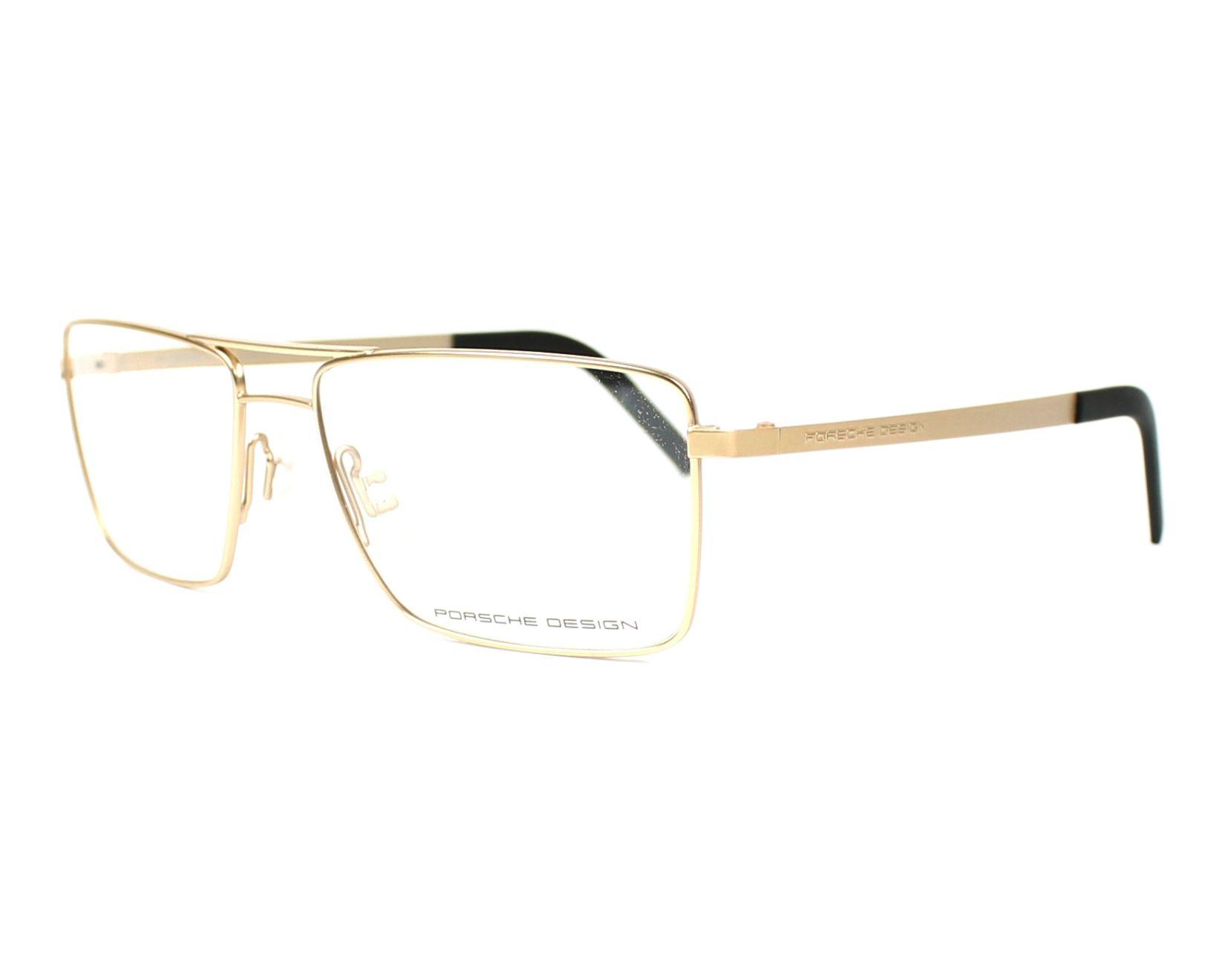 05706da0a66e eyeglasses Porsche Design P-8281 C 56-16 Gold profile view