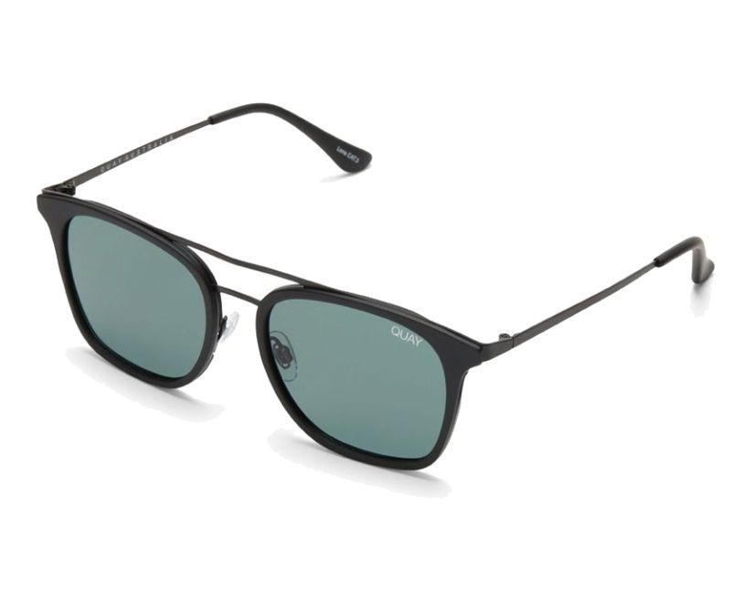 fe1db288c8888e thumbnail Sunglasses Quay Australia QM-000225 BLK GRN - Black front view