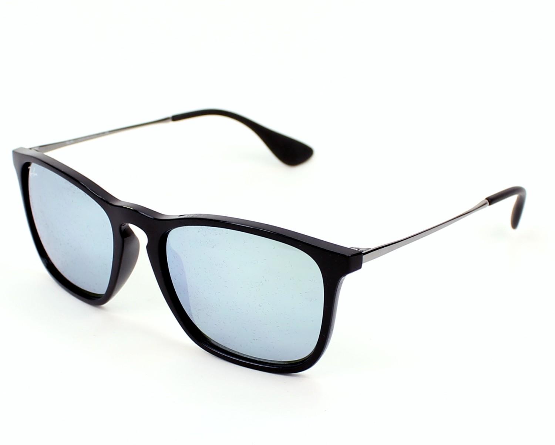 4dc467917ff thumbnail Sunglasses Ray-Ban RB-4187 601 30 - Black Gun profile view