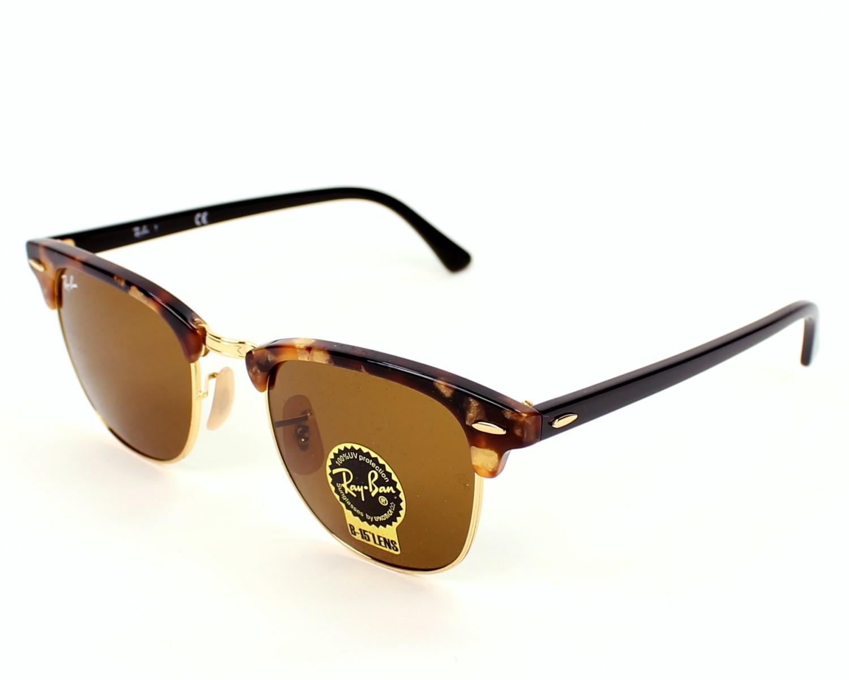 f6d8050bd7c Sunglasses Ray-Ban RB-3016 1160 49-21 Brown Black profile view