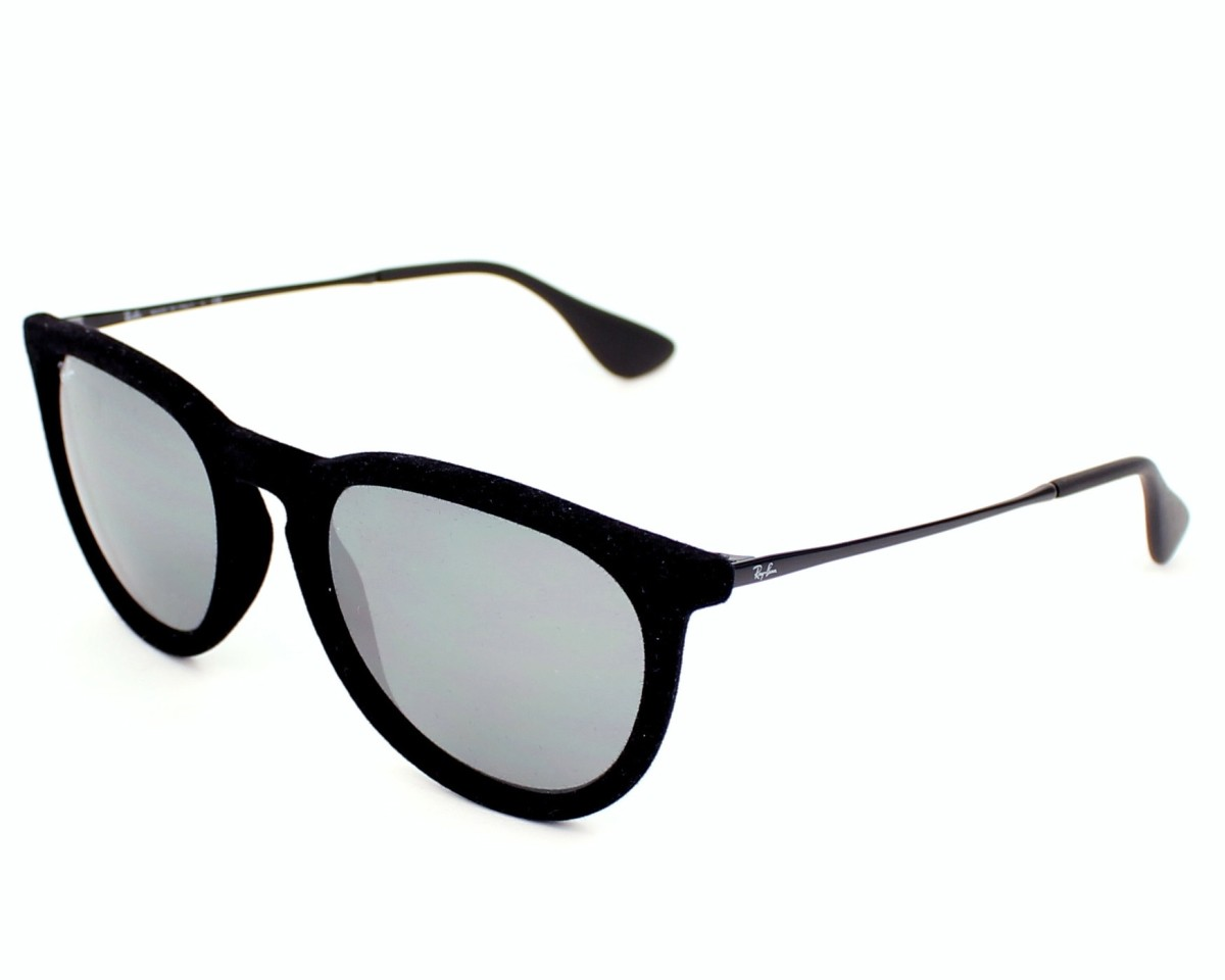 f6cf4f10876 Sunglasses Ray-Ban RB-4171 6075 6G 54-17 Black profile view