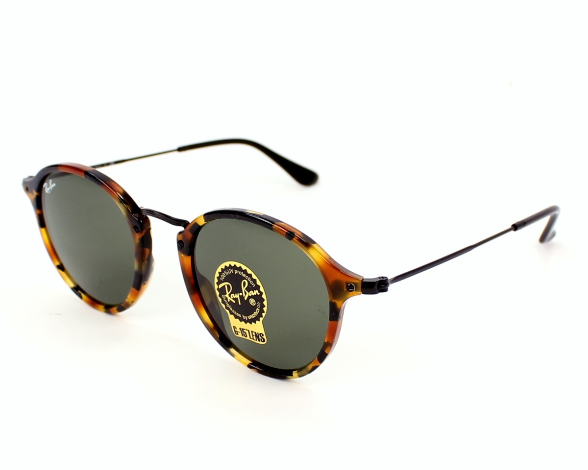 2d6e93b457 Sunglasses Ray-Ban RB-2447 1157 - Havana Black profile view