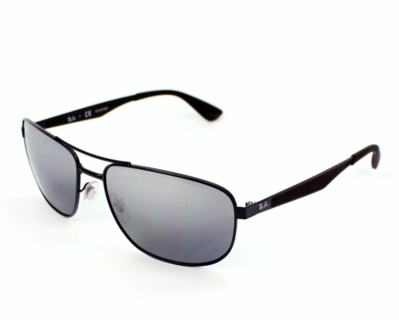 e8a00284ac Sunglasses Ray-Ban RB-3528 006 82 61-17 Black profile view